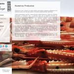Un clásico da gastronomía compostelana, templo do produto galego de excelencia, necesitaba unha reforma da súa Web Restaurante Pasaje