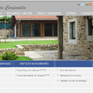 Auditoría web y migración dominios Pousadas de Compostela