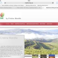 Mantivinos, el web blog de Cristina Mantilla.