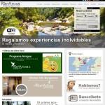 Nueva web Camping Ría de Arosa