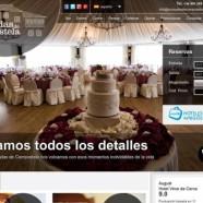 Nueva web para Pousadas de Compostela.