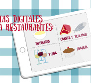 Cartas digitales en tablets para Restaurantes