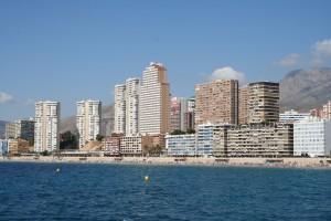 La misma playa de Poniente, destino turístico