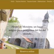 Web turística para el Hostel Monasterio de Moraime